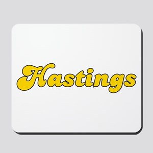 Retro Hastings (Gold) Mousepad