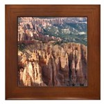 Bryce Canyon Hoodoos Framed Tile