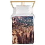 Bryce Canyon Hoodoos Twin Duvet Cover