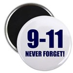 "9-11 Never Forget 2.25"" Magnet (100 pack)"