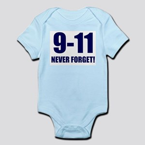 9-11 Never Forget Infant Creeper