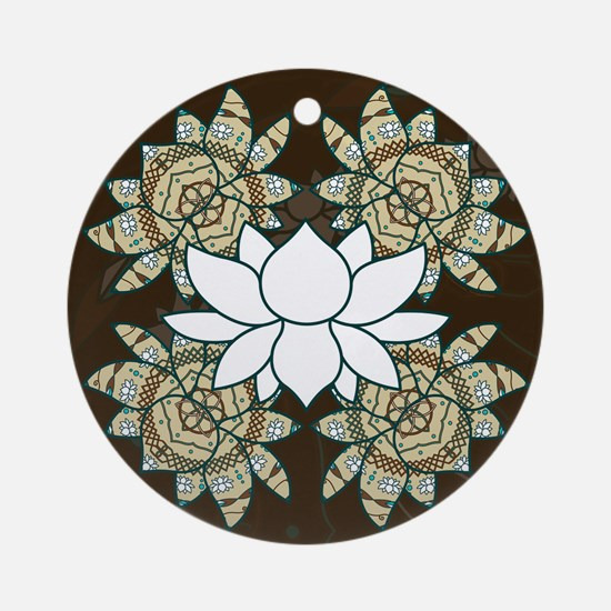 The Lotus Ornament (Round)