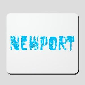 Newport Faded (Blue) Mousepad