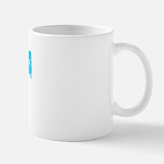 Niagara Falls Faded (Blue) Mug