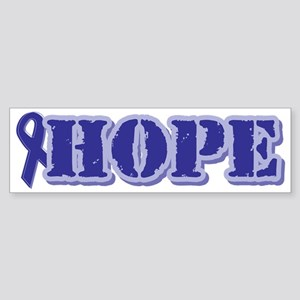 Purple Hope Ribbon Bumper Sticker