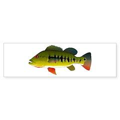 Royal Peacock Bass Bumper Bumper Sticker