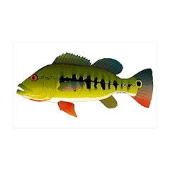 Royal Peacock Bass Wall Decal
