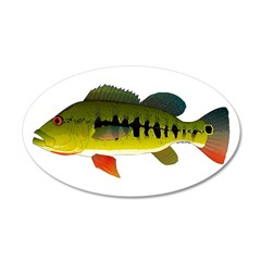 Royal Peacock Bass Wall Decal
