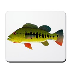 Royal Peacock Bass Mousepad