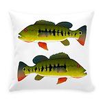 Royal Peacock Bass Everyday Pillow