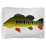 Royal Peacock Bass Pillow Sham