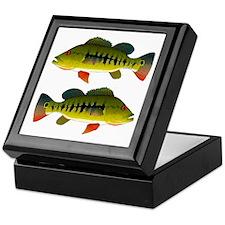Royal Peacock Bass Keepsake Box