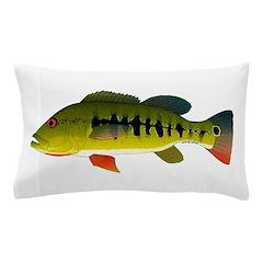Royal Peacock Bass Pillow Case