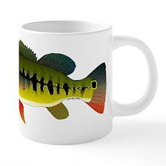Royal Peacock Bass Mugs