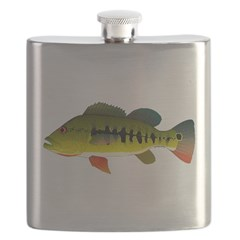 Royal Peacock Bass Flask