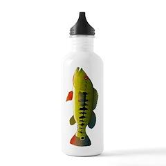 Royal Peacock Bass Water Bottle