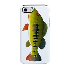 Royal Peacock Bass iPhone 8/7 Tough Case