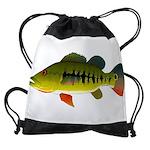Royal Peacock Bass Drawstring Bag
