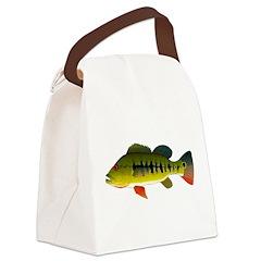 Royal Peacock Bass Canvas Lunch Bag