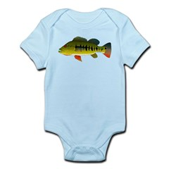 Royal Peacock Bass Body Suit