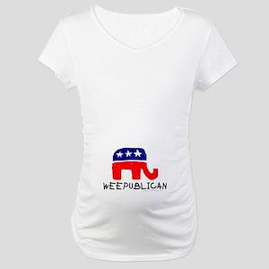 """NEW"" WEEPUBLICAN Maternity T-Shirt"