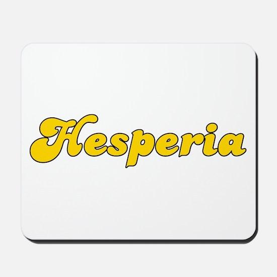 Retro Hesperia (Gold) Mousepad