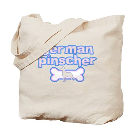 Powderpuff German Pinscher Tote Bag