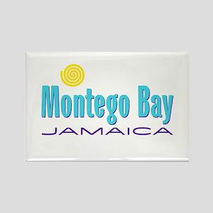 Montego Bay - Rectangle Magnet