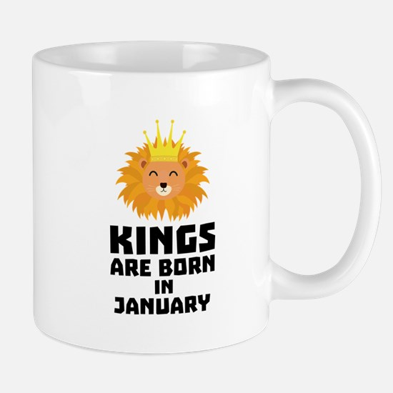 Kings are born in JANUARY C4z2d Mugs