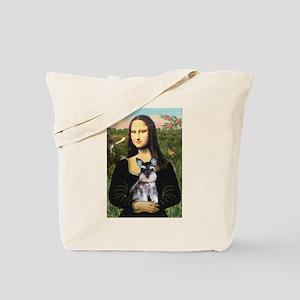Mona Lisa's Schnauzer Puppy Tote Bag