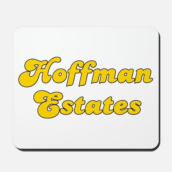 Retro Hoffman Esta.. (Gold) Mousepad