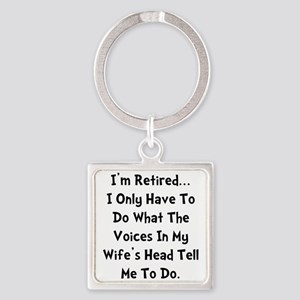 Retired Wife Voices Blac Keychains