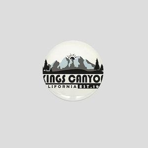 Kings Canyon - California Mini Button
