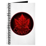 Canada Maple Leaf Souvenir Journal