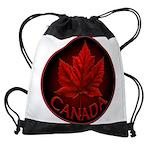 Canada Maple Leaf Souvenir Drawstring Bag