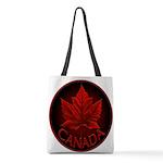 Canada Maple Leaf Souvenir Polyester Tote Bag