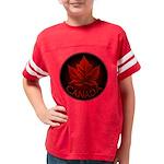 Canada Maple Leaf Souvenir Youth Football Shirt