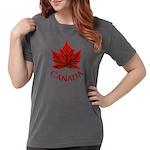 Canada Maple Leaf Souv Womens Comfort Colors Shirt