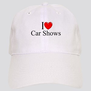 """I Love (Heart) Car Shows"" Cap"