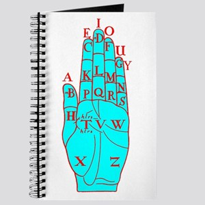 DALGARNO HAND RED BLUE Journal