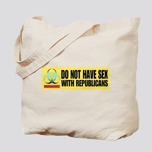 Do not have sex with republic Tote Bag