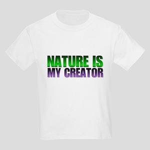 Nature is my creator. Kids T-Shirt