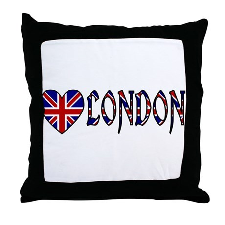 Love London Throw Pillow
