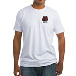 Masonic Real Men Wear Kilts! Fitted T-Shirt