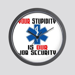 Your Stupidity Wall Clock