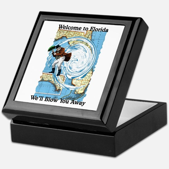 Hurricane Dennis Keepsake Box