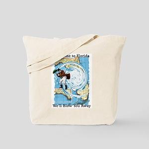 Hurricane Dennis Tote Bag