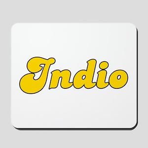 Retro Indio (Gold) Mousepad