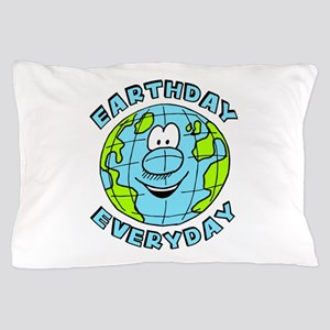 Earthday Everyday Pillow Case