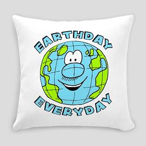 Earthday Everyday Everyday Pillow
